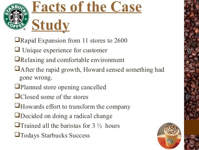 starbucks corporation case study in motivation