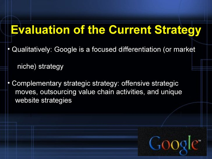 google case study strategic management