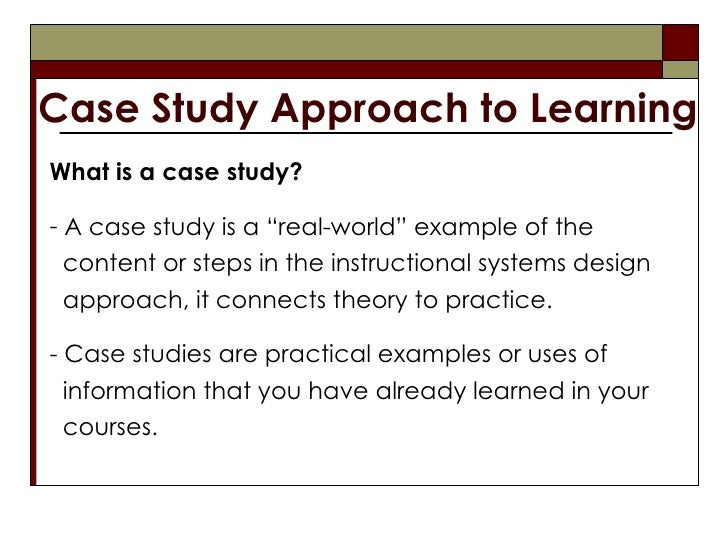 a study on learning
