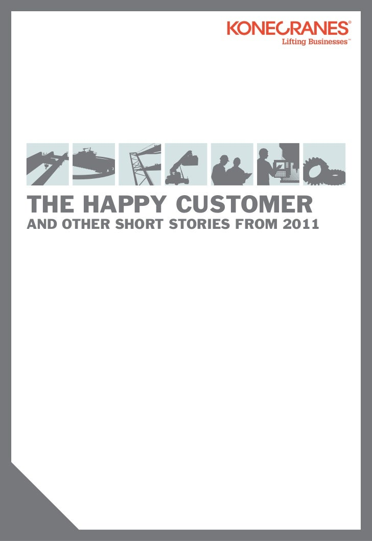 the happy customerAND OTHER SHORT STORIES FROM 2011
