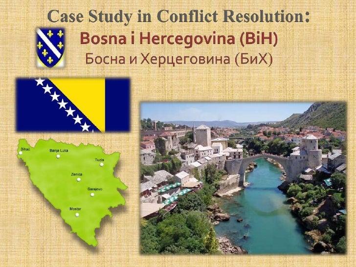 Case study bosnia
