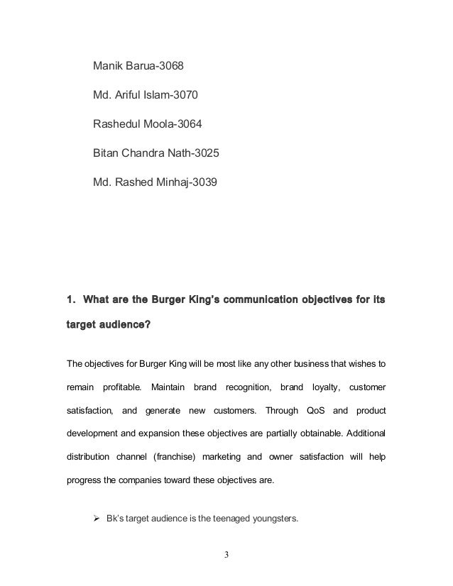 burger king case study solution Possible solutions to the the two fast food companies that hold the largest market share are mcdonald's and burger king other fast food by losing customers to competitors such as burger king case study recommendations mcdonald's should make use of its strength of innovation to.