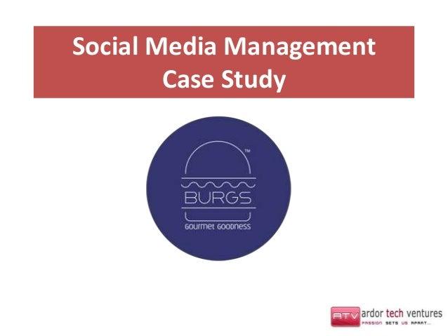 Social Media Management        Case Study