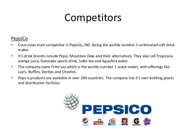 What Are Coca-Cola's Major Competitors?