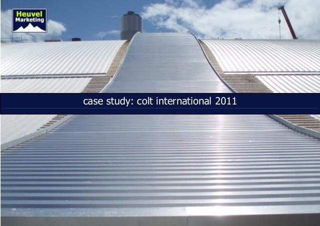 Case Study Inbound Marketing Colt International