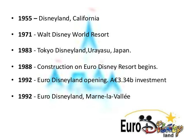ppt of case study of disney in france Appendix 46 (americanization of european culture case study: disney in france) adapted from hill, charles wl (2000) disney in france in international business.