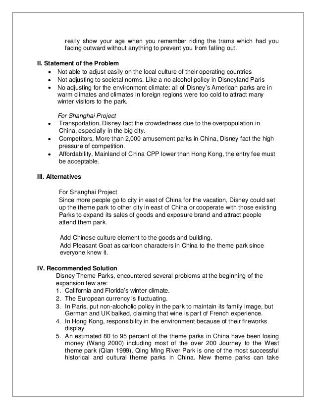 a case study of the walt disney company marketing essay The walt disney company example essays, research papers, term papers,  case  disney wants to target their theme park to the global market and build  global  strategic management case study: the walt disney company group  10: 1.