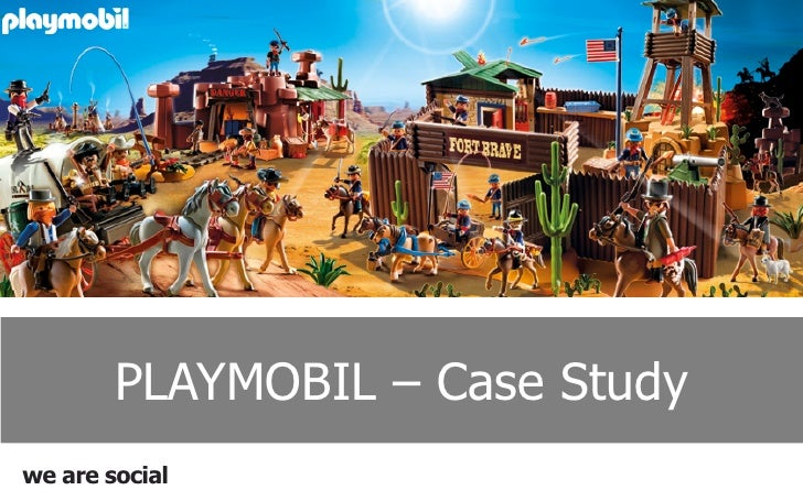 PLAYMOBIL – Case Studywe are social