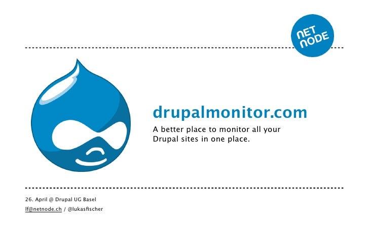 Drupalmonitor.com - Drupal User Group Meetup Basel