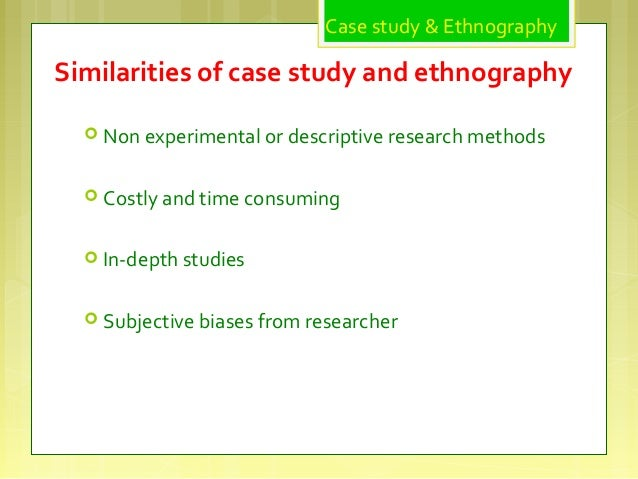 ethnographic case study thesis In the 1990s, the topics of development and poverty, once dominated by development economists, appeared on the radar of management, organizational studies and innovation scholars a huge variety of terms, some historical like ' appropriate technology' and some others totally new like 'frugal innovation'.