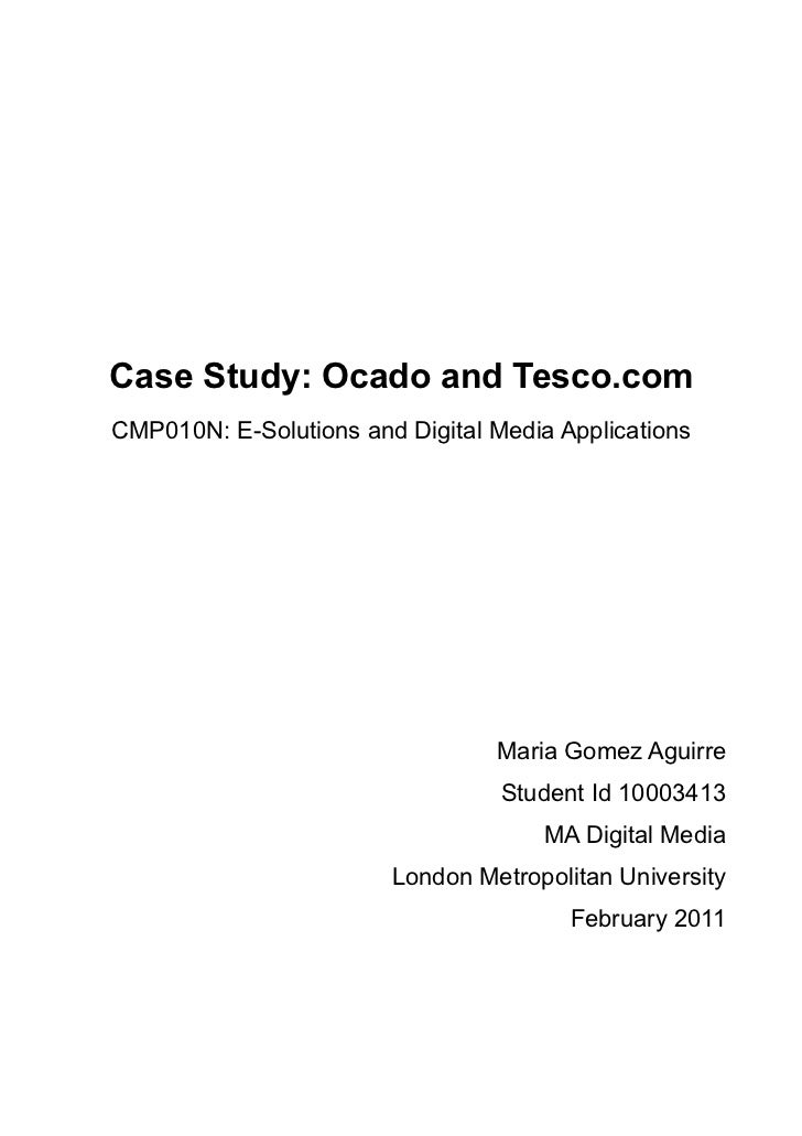 E-solutions and Digital Media Applications - Case Study