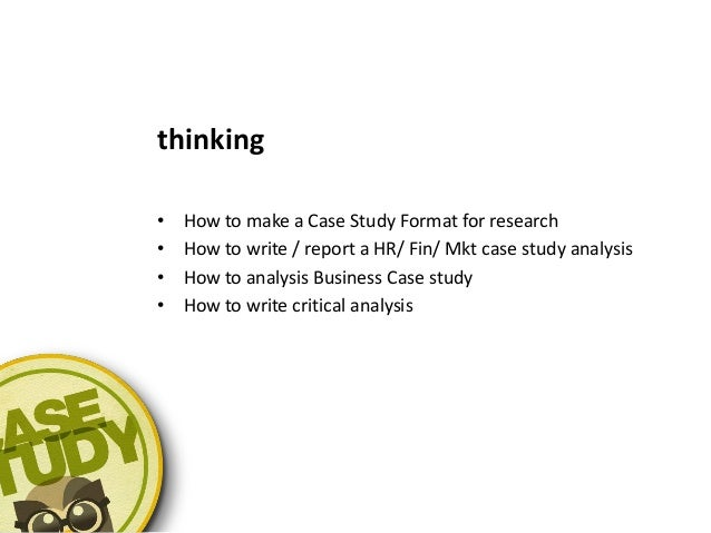 Write my finance case study