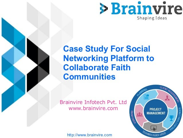 case study on social networking websites