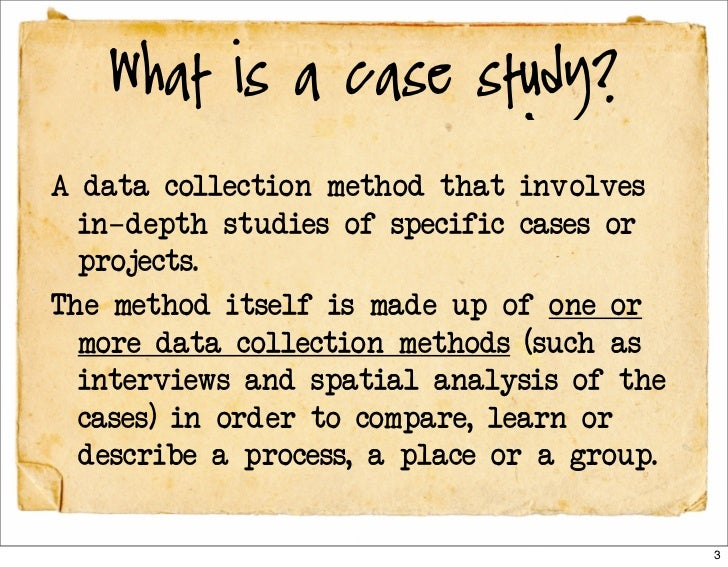 Case Study as a Research Methodology
