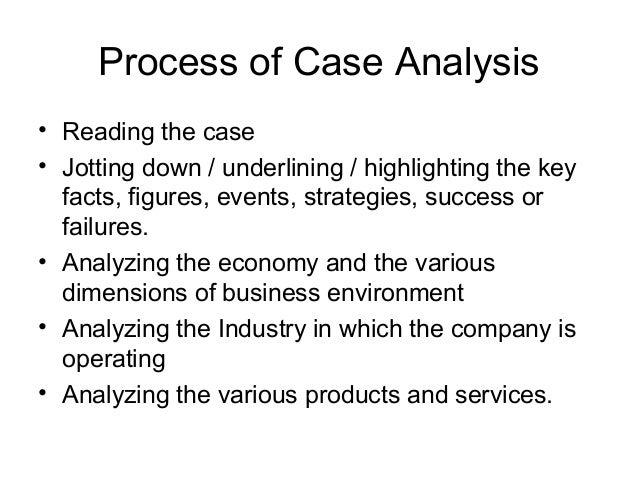 second case analysis essay case 9