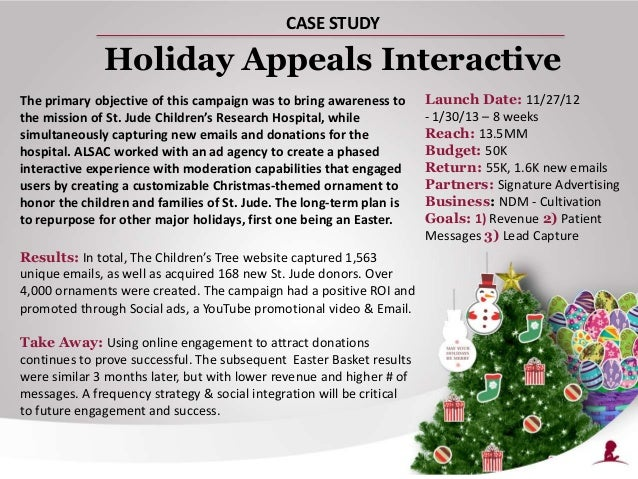 Holiday Interactive Marketing Campaign - Case Study