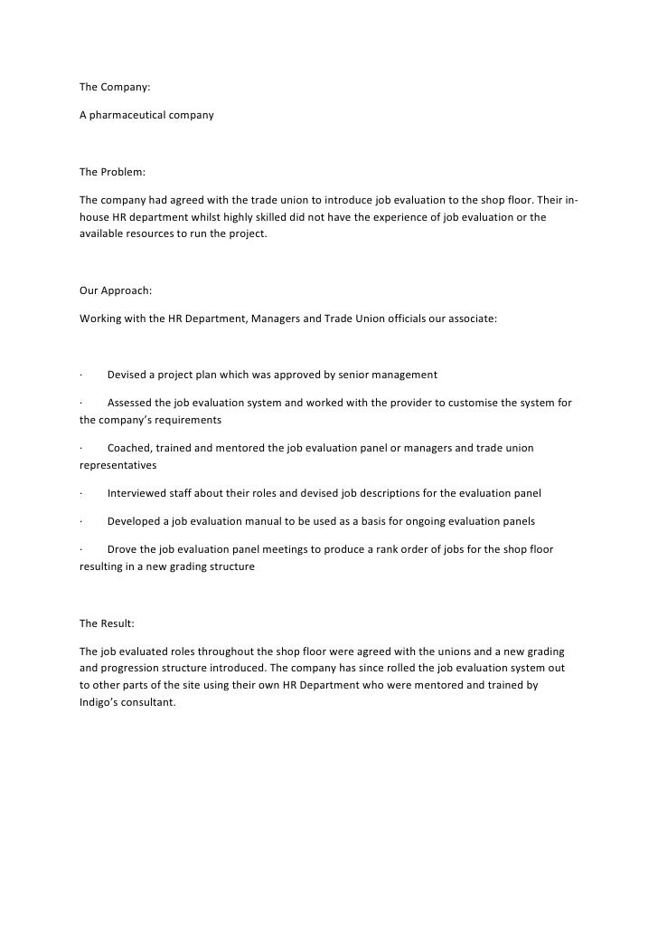 "job evaluation at whole foods case study Read ""job evaluation at whole foods"" case study (text pp 153–157) the whole foods market has completed a job analysis and written job descriptions for jobs a thorough job i respond to the."