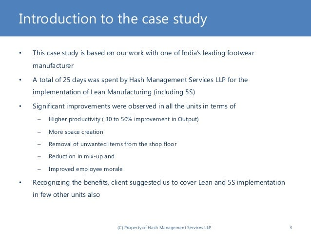 Tiger Tools Case Study Operations Management