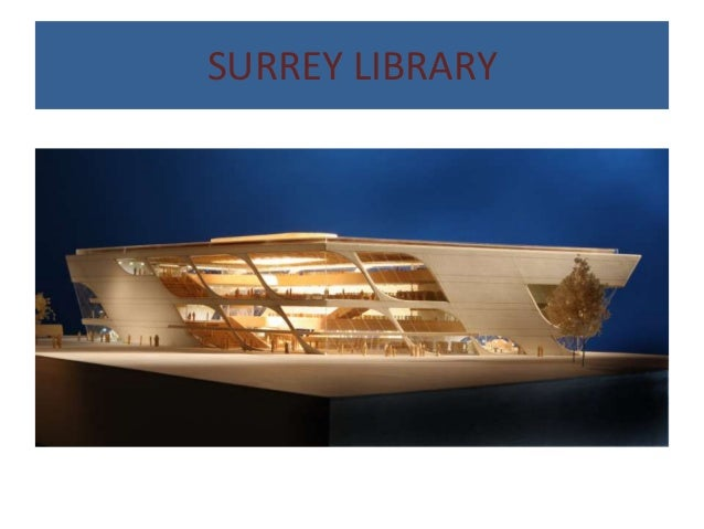 Case study of surrey library