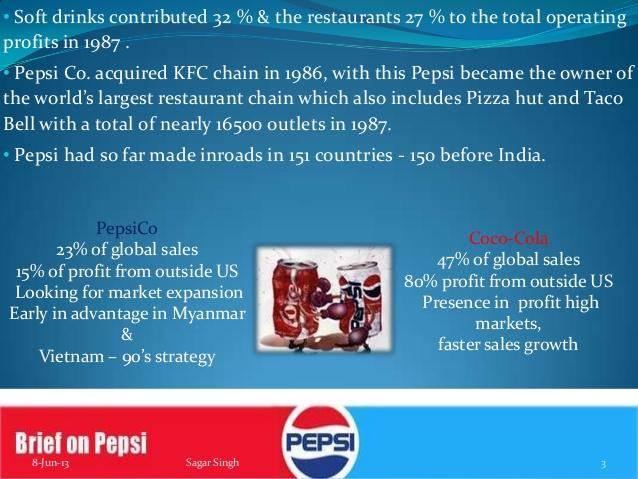 pepsico restaurants essay
