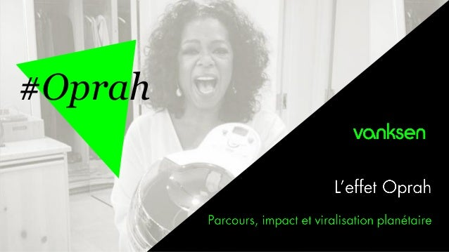 Oprah et l'analyse de son effet sur Actifry et le Groupe SEB