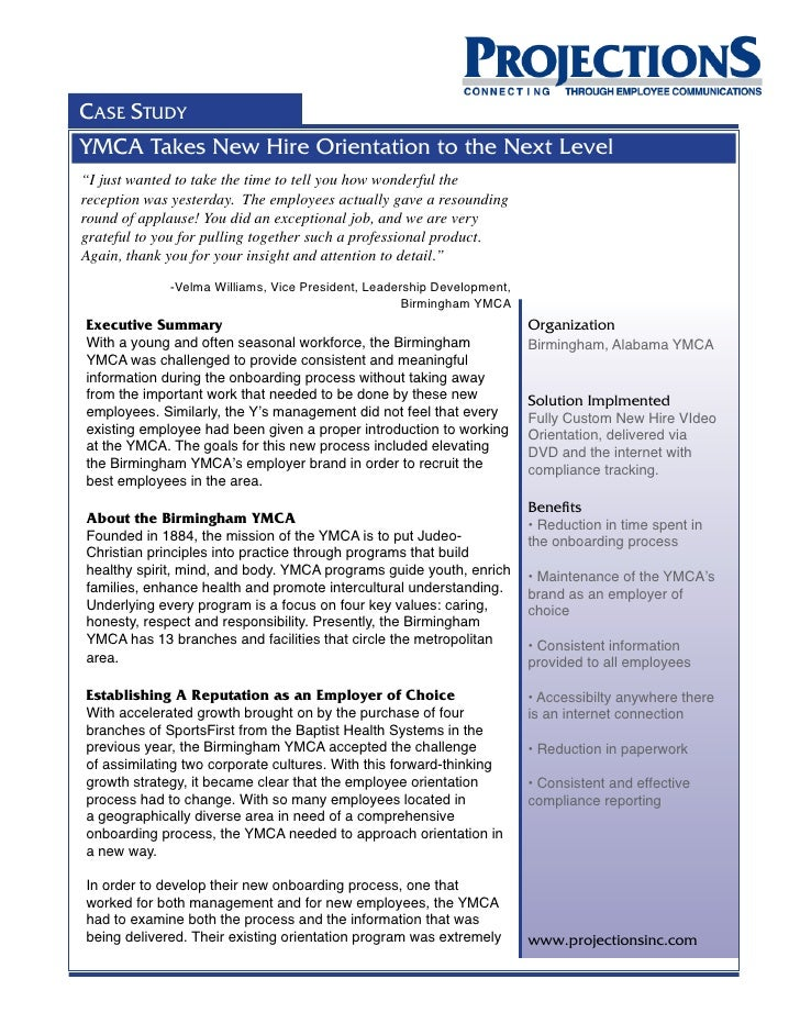 new employee orientation case studies
