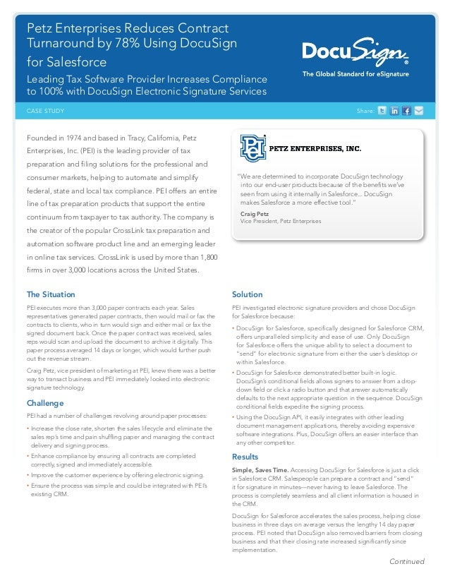 DocuSign Petz Case Study