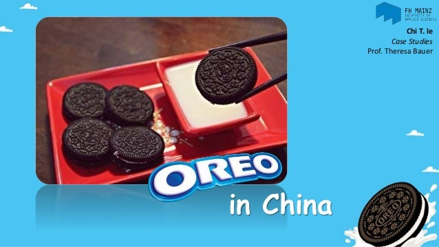 Oreo In China by Chi T. Le