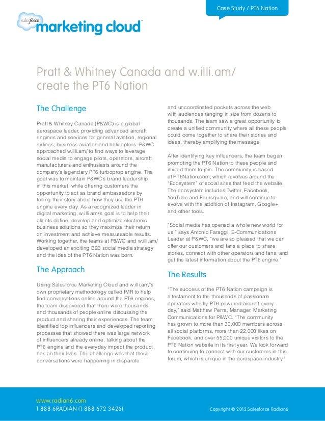 Pratt & Whitney Canada and w.illi.am/ Create the PT6 Nation