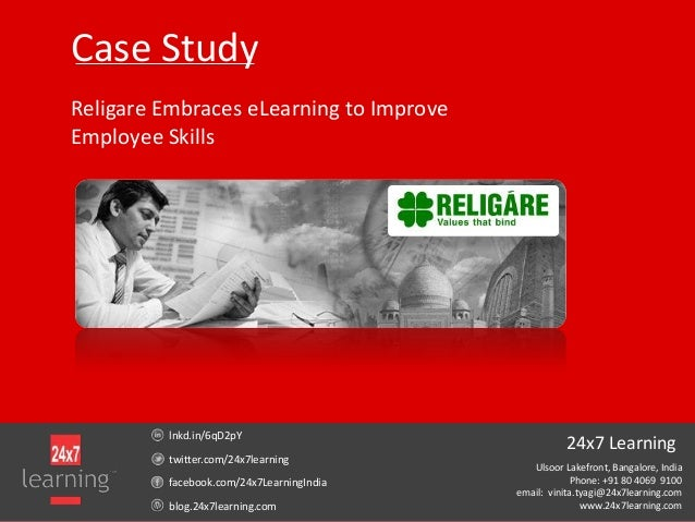 Case Study: Religare Embraces eLearning to Improve Employee Skills