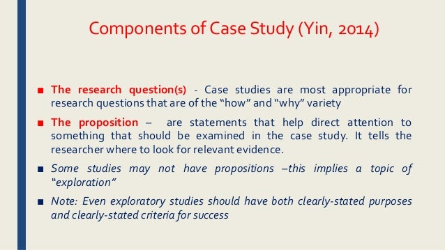 yin case studies 2009 Case studies that you may have encountered in teaching and case study research as such, case studies are preferred in the following situations (yin 2009).