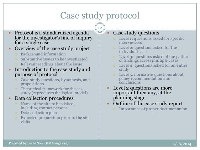 Case Study Protocol - Stanford University