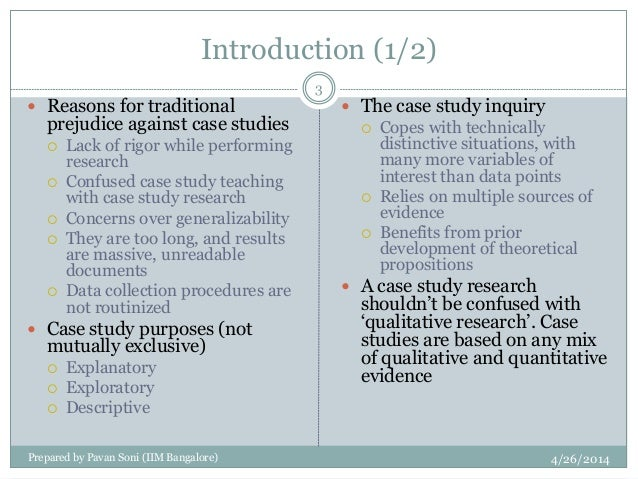 guidelines for case study research and teaching