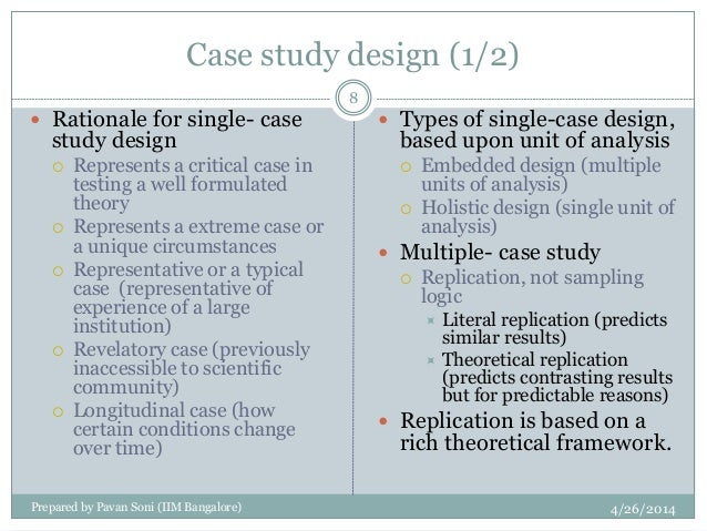 Multiple case study