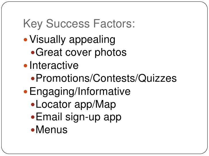 key success factors blue nile 64 key success factors for your brand you will be able to define the right metrics for determining success in the success factors that we.