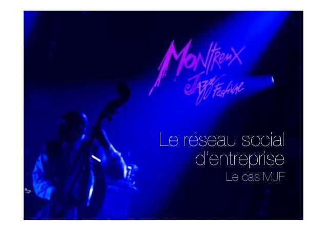 Étude de Cas RSE : Montreux Jazz Festival - Mathieu Jaton