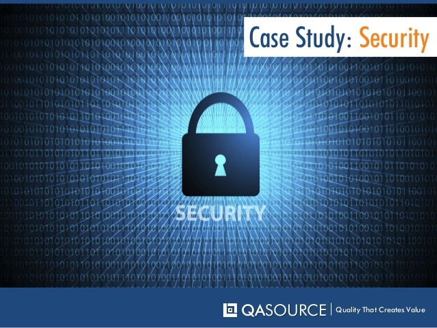 case study on network security A case study in testing a network security algorithm dr carrie e gates ca labs, ca islandia, ny 11749 carriegates@cacom abstract several difficulties arise when.