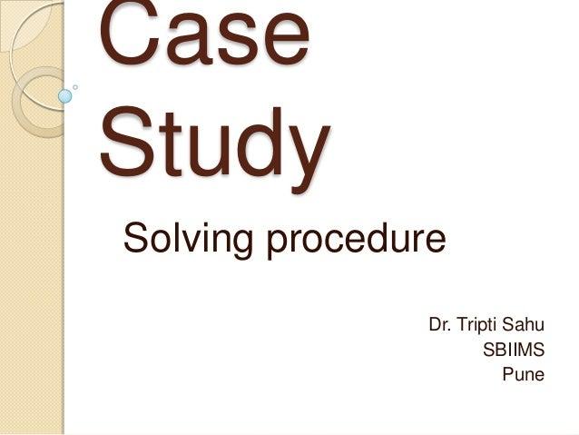 Case study techniques