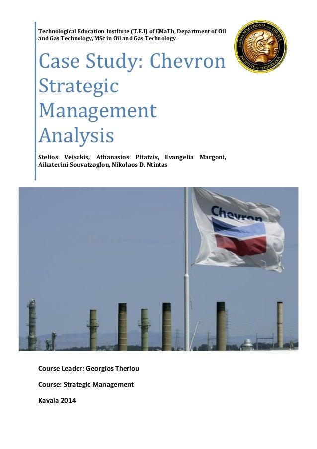 strategic management case study outline