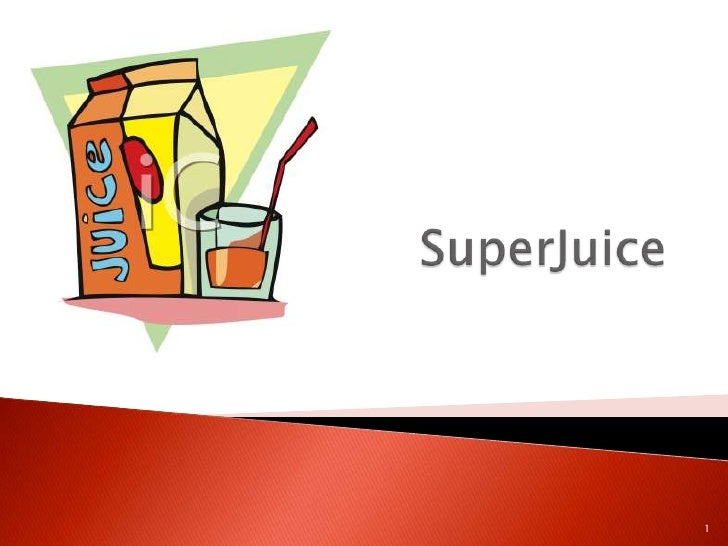 SuperJuice<br />1<br />