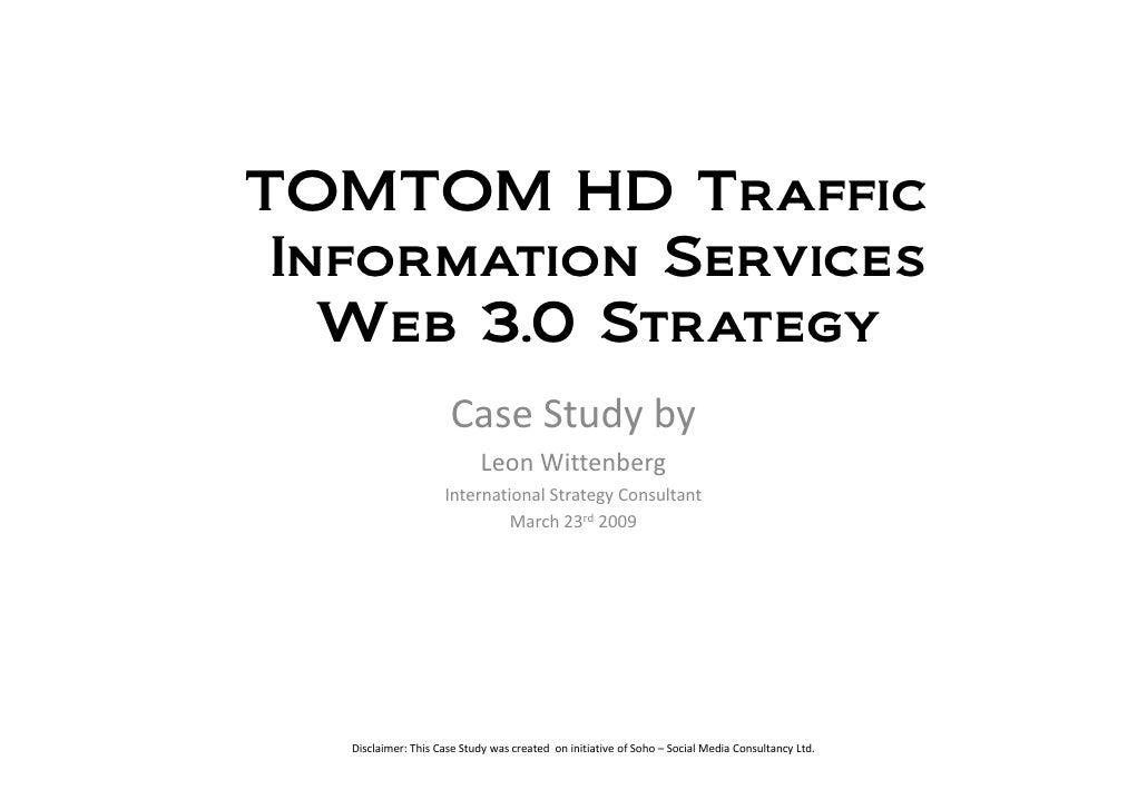 Case Study Tom Tom Web 3.0 Strategy 20090323