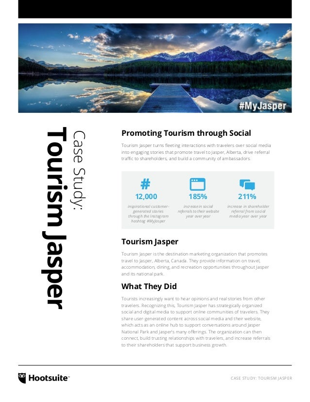 The Value of Branded Hashtags: A Tourism Jasper Case Study