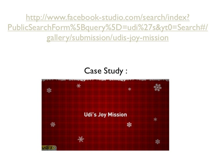 CaseStudy Udi's Joy Mission