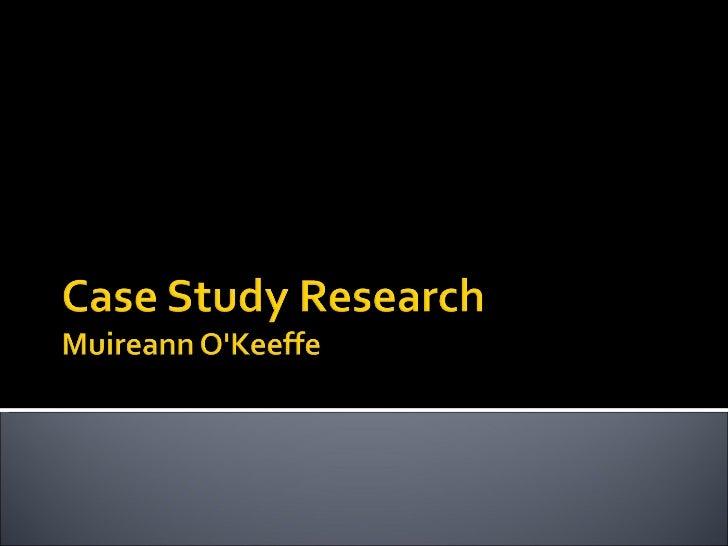 scientific case study structure