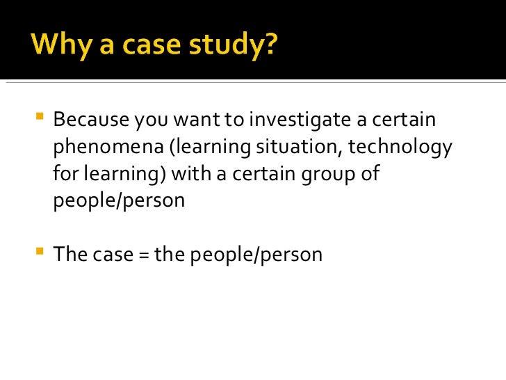 Case study research design methods