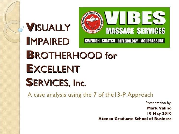 VIBES Case Study