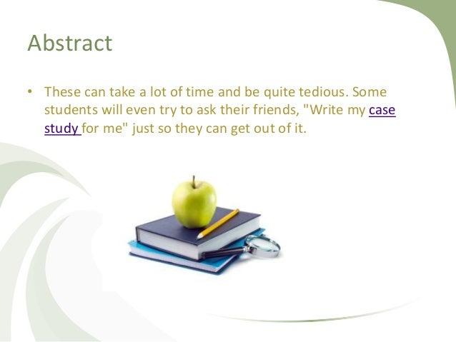 Case study writing companies