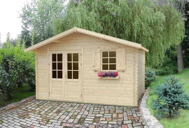 Casetta in legno casetta da giardino in legno - Case di legno da giardino ...
