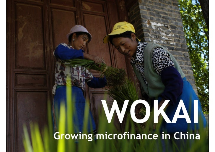 WOKAI Growing microfinance in China