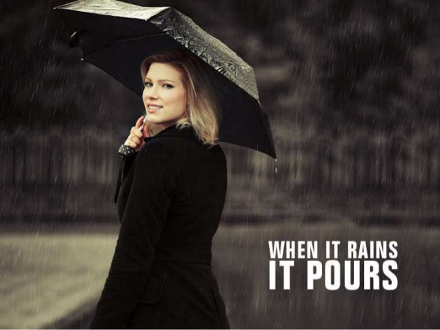 When It Rains It Pours by CASH 1 Loans